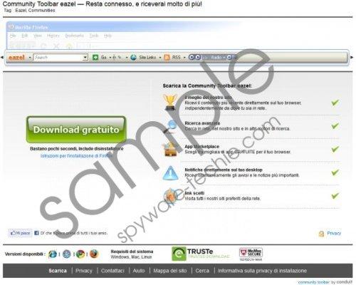 Eazel Toolbar Removal Guide