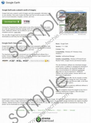 Google-earth.xtremedownload.com Removal Guide