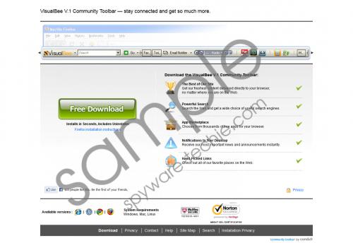 VisualBee Toolbar Removal Guide