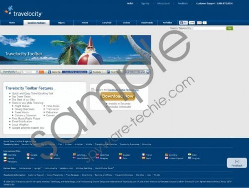Travelocity Toolbar Removal Guide