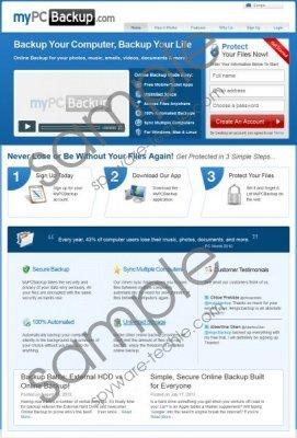 MyPCBackup Removal Guide