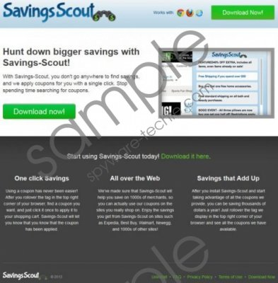 Savings Scout Removal Guide