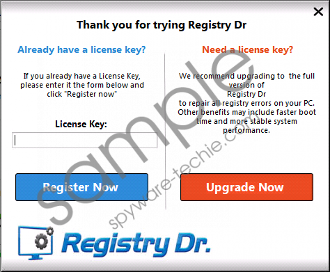 Registry Dr. Removal Guide