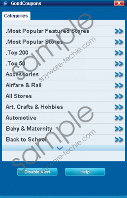 GoodSearch Toolbar Removal Guide
