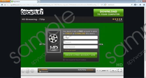QuickFilmz.com Removal Guide