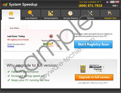 System Speedup Removal Guide