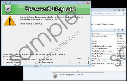 Browsersafeguard Removal Guide