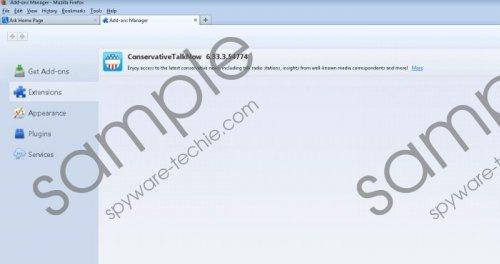 ConservativeTalkNow toolbar Removal Guide