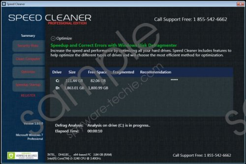 Speed Cleaner Removal Guide