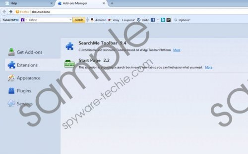 SearchMe Toolbar Removal Guide