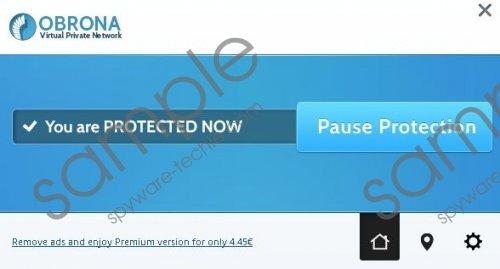 Obrona VPN Deals Removal Guide