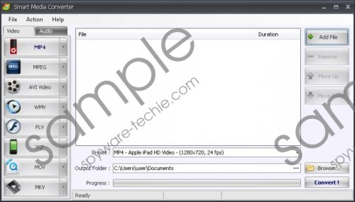Smart Media Converter Removal Guide