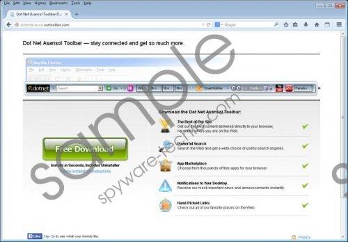 Dot Net Asansol Community Toolbar Removal Guide