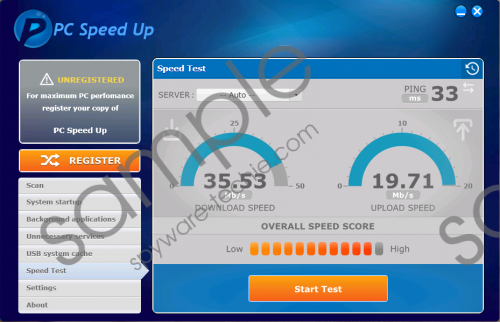 Speedchecker PC Speed Up Removal Guide