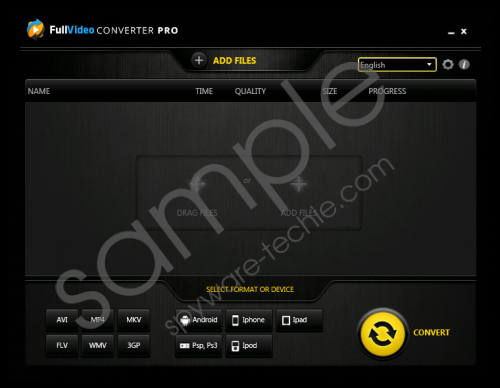 FullVideoConverterPro Removal Guide