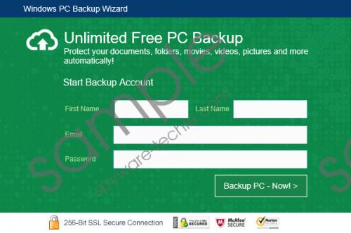 PCBackupWizard Removal Guide