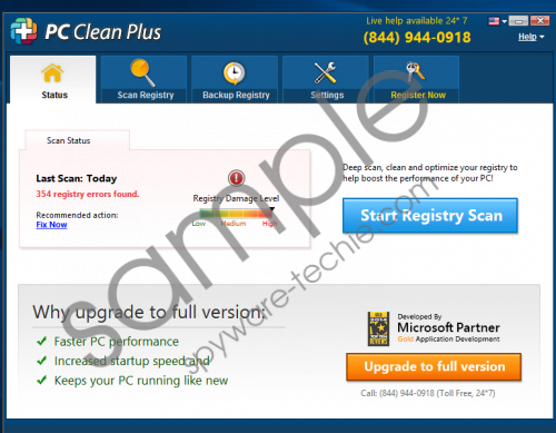 PC Clean Plus Removal Guide