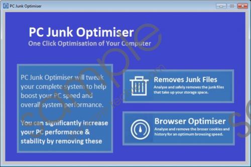 PC Junk Optimiser Removal Guide