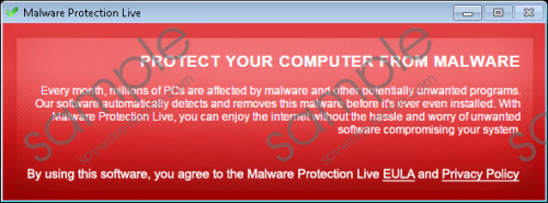 Malware Protection Live Removal Guide