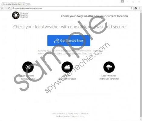Desktop Weather Channel Removal Guide