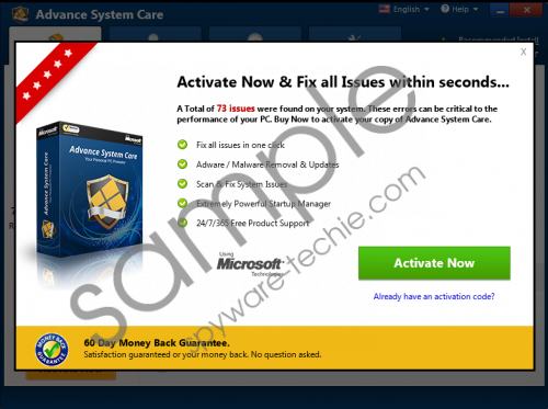 Advance System Care Removal Guide