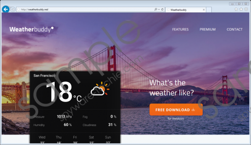 Weatherbuddy Ads Removal Guide