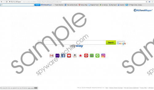 MyTransitMapper Toolbar Removal Guide