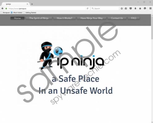 IPNinja Removal Guide