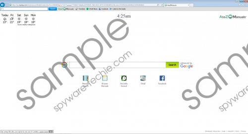 AtoZManuals Toolbar Removal Guide