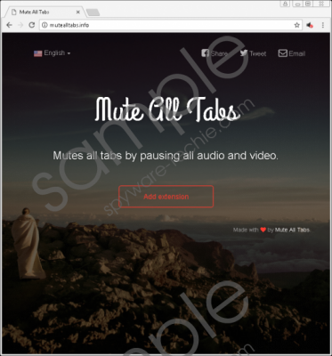 MuteAllTabs Removal Guide