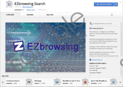 EZbrowsing Search Removal Guide