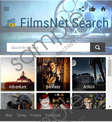 filmsNet Search Removal Guide
