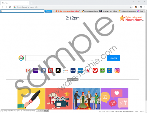 EntertainmentNewsNow Toolbar Removal Guide