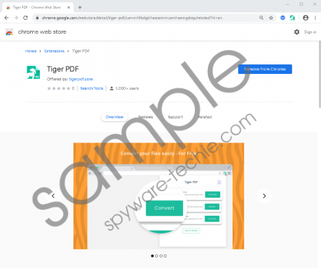 Tiger PDF Removal Guide