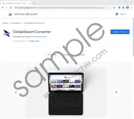 GlobalSearchConverter Removal Guide