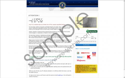FBI Moneypak Removal Guide