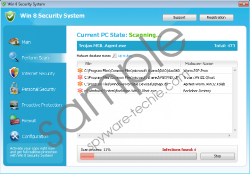 Windows 8 Security System Removal Guide