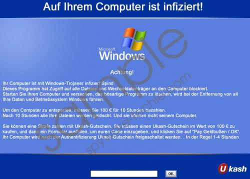 Auf ihrem computer ist infiziert Virus Removal Guide