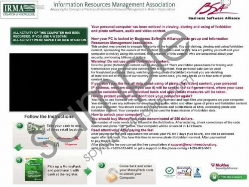 BSA Virus Removal Guide