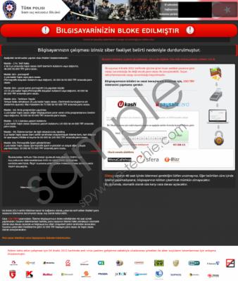 Bllgisayarinizin Bloke Edilmistir Removal Guide