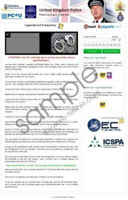 United Kingdom Police Virus Removal Guide