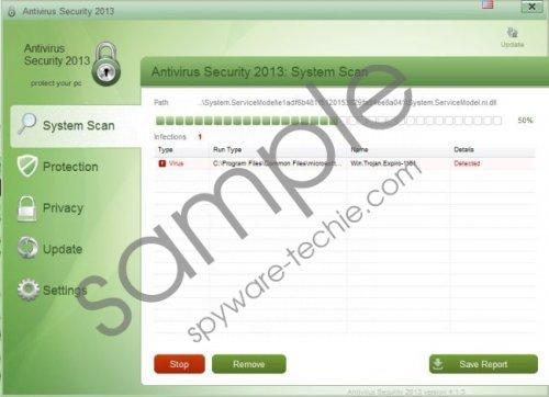 Antivirus Security 2013 Virus Removal Guide