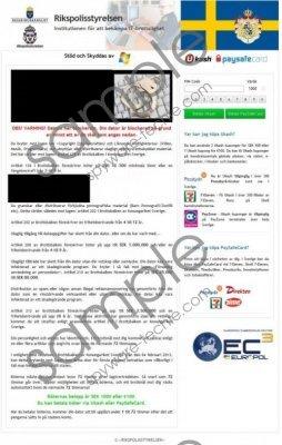 Polisen Enheten för databrott Removal Guide