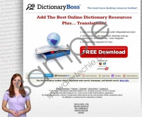 DictionaryBoss Toolbar Removal Guide