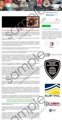 Unité Spéciale de la Police virus Removal Guide