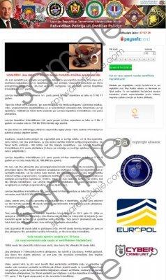 Pašvaldības Policija un Drošības Policija Virus Removal Guide