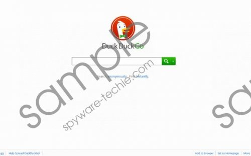 Duckduckgo.com Removal Guide