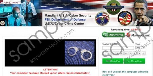 USA Cyber Crime Investigations Virus Removal Guide