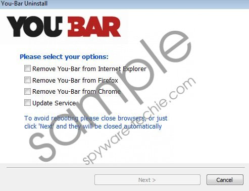 You-Bar Removal Guide