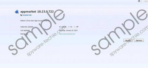 AppMarket Toolbar Removal Guide